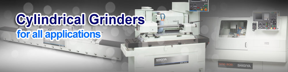 Shigiya Cylindrical Grinders