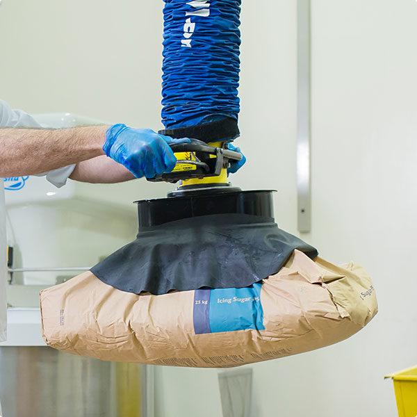 Tawi Vaccum lifting 25kg flour bag